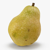fruit pear 3D