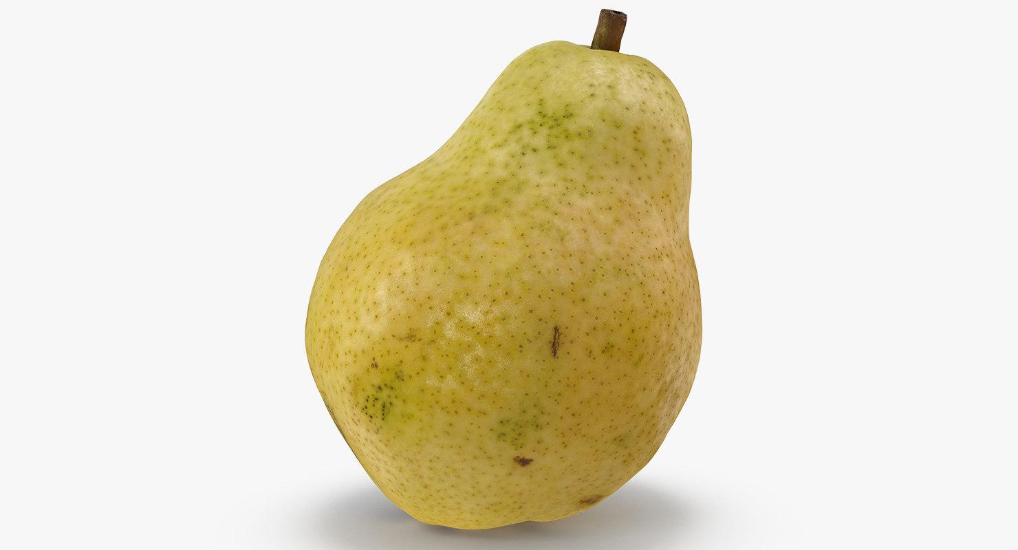 fruit pear 3D