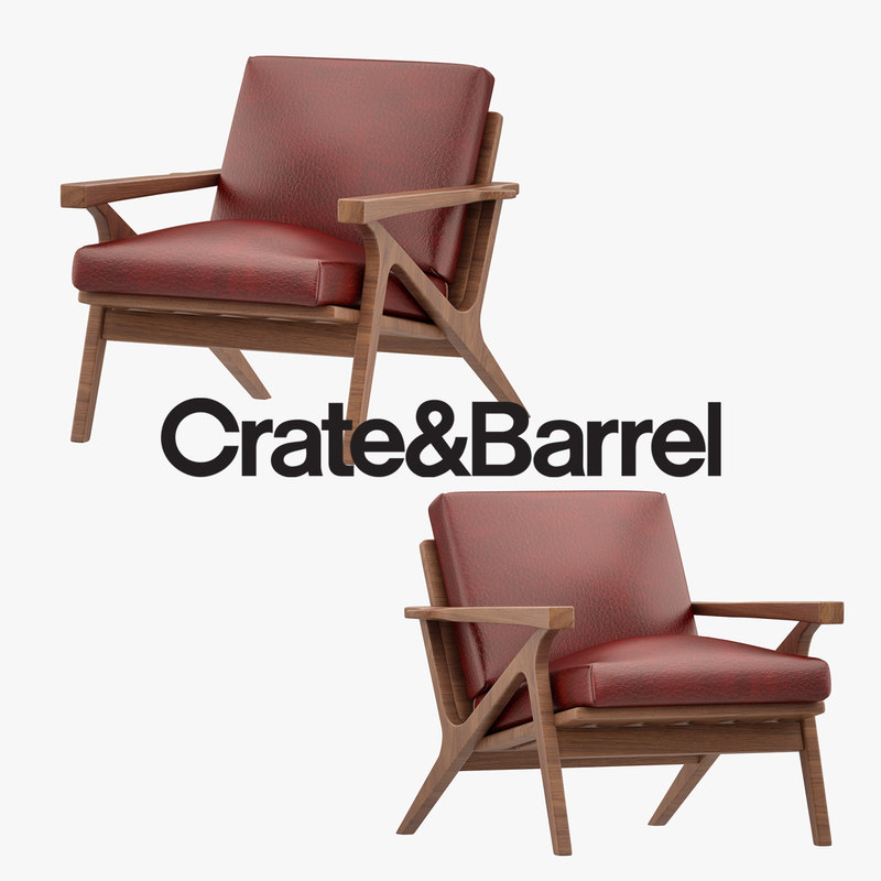3D cavett armchair