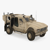 Oshkosh M-ATV Mine Resistant Ambush Protected Vehicle Rigged