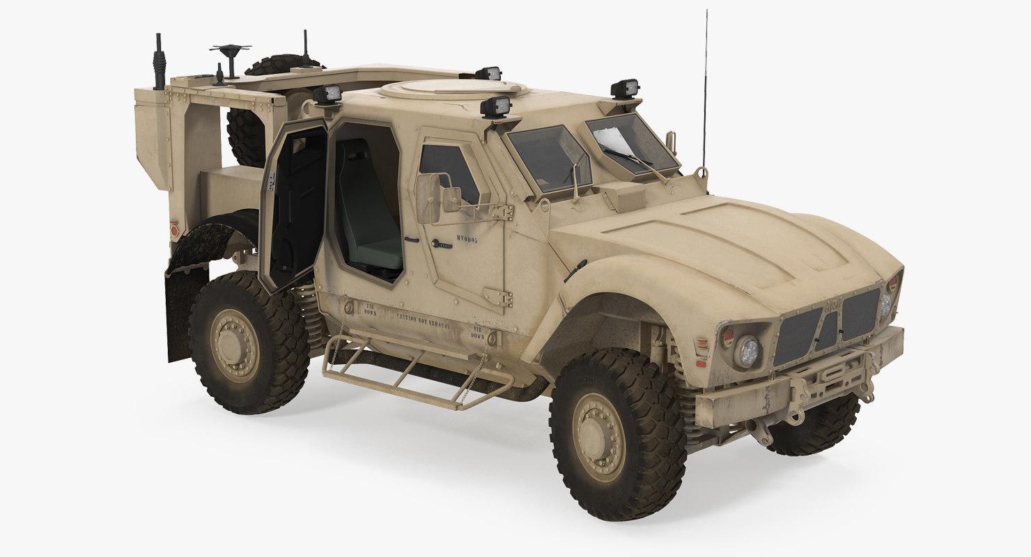oshkosh m-atv resistant ambush 3D model