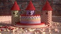 3D house blocks
