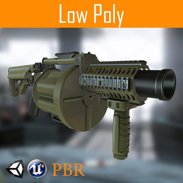 grenade-gun model