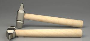 hammer industrial tool ready 3D model