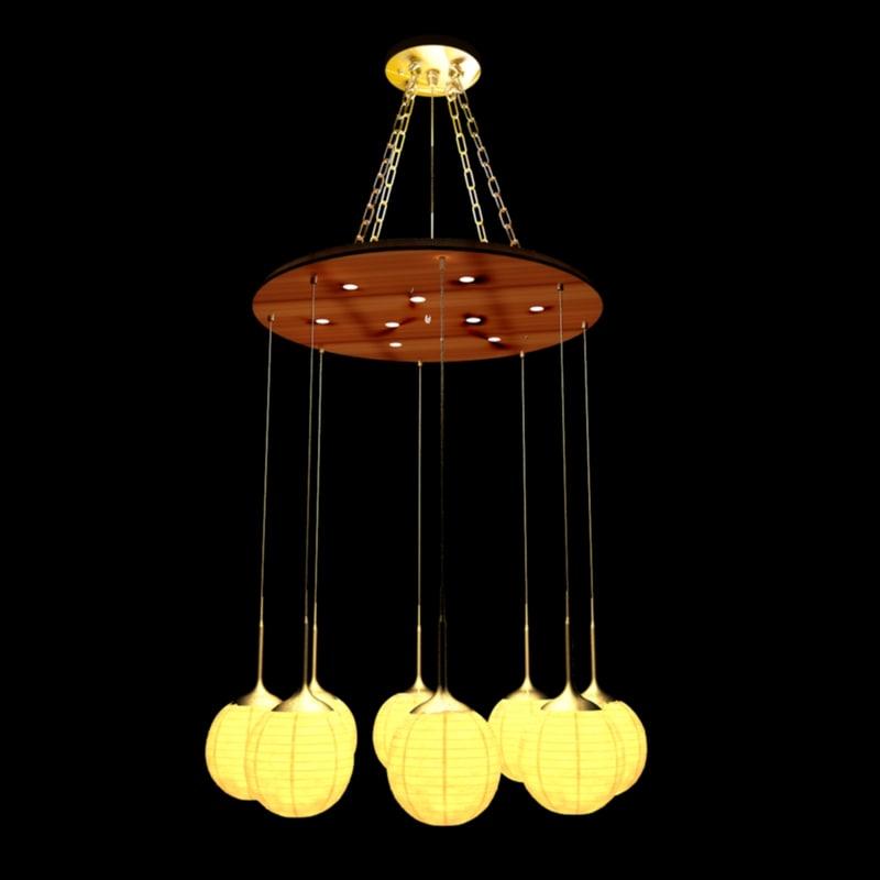 chinese lantern model