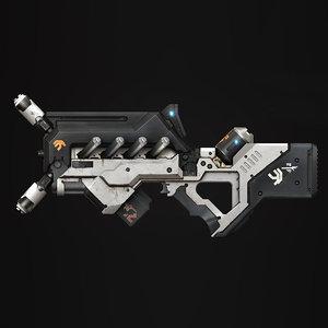 biggun highpoly 3D