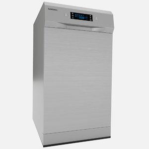 3D dishwasher samsung