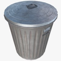 3D realistic trash model