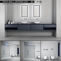 bathroom furniture set panta 3D model