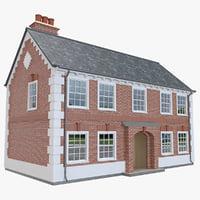 3D house brick
