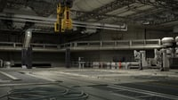 3D interior mars space model