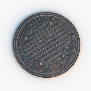 sewer hatch 3D model
