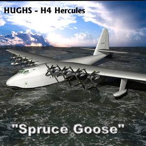 3D spruce goose