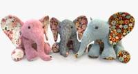 3D elephant toys model