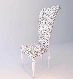 selva chair 3D model