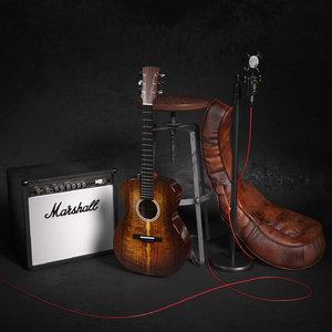 3D music combo acoustic model