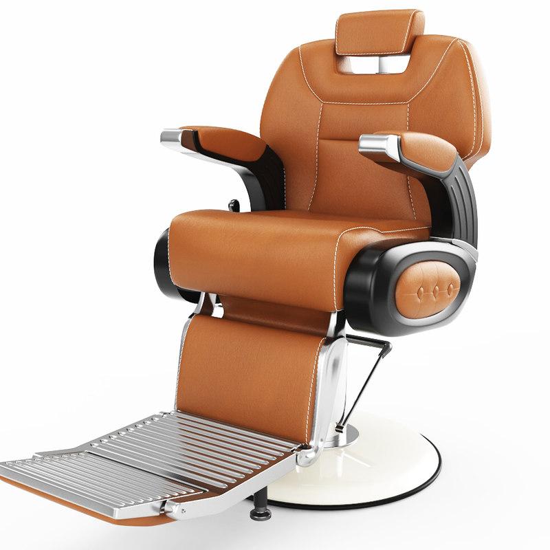 hair chair 3D model