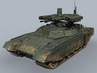 3D bmpt russian tank bmpt-72