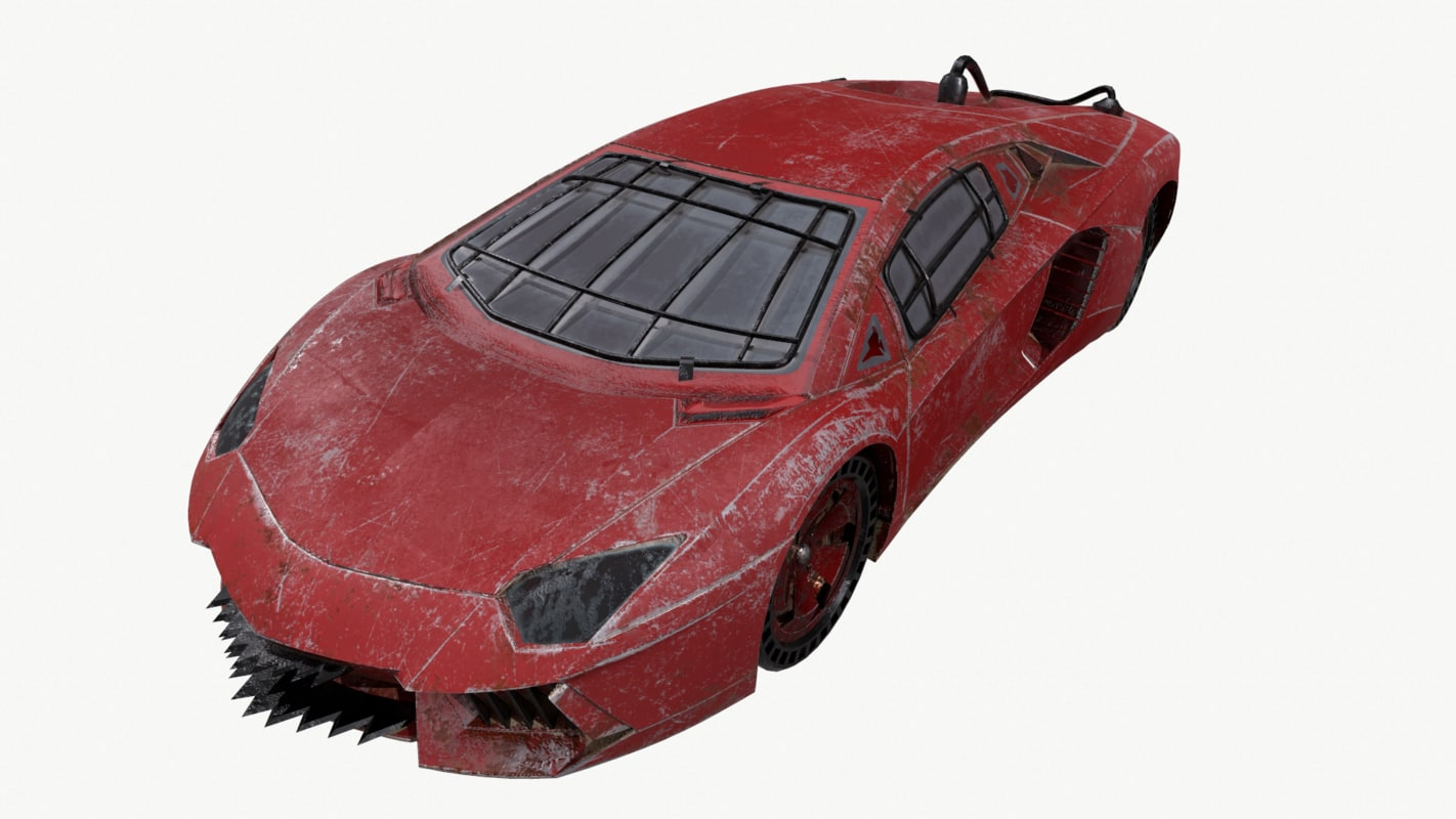 lamborghini mad style 3D model