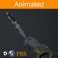 fps hands axe model
