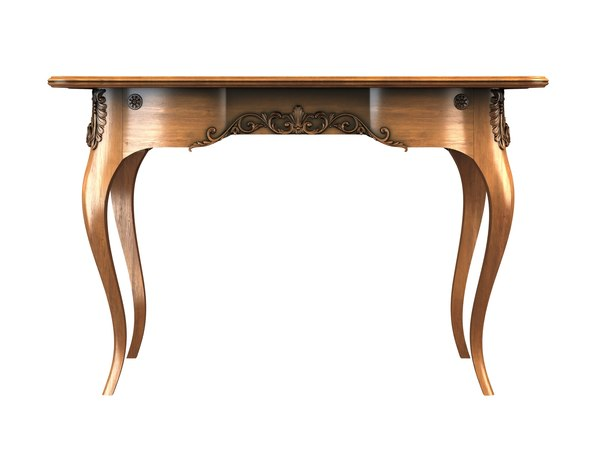 writing table 3D model