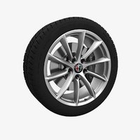 3D model wheel alfa romeo giulia