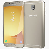 3D model realistic samsung galaxy j7