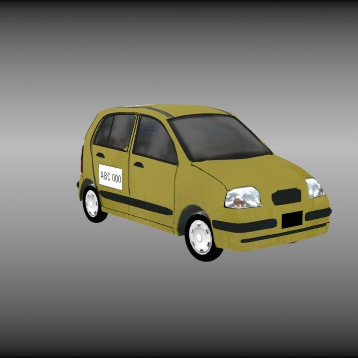 3D taxi rigging
