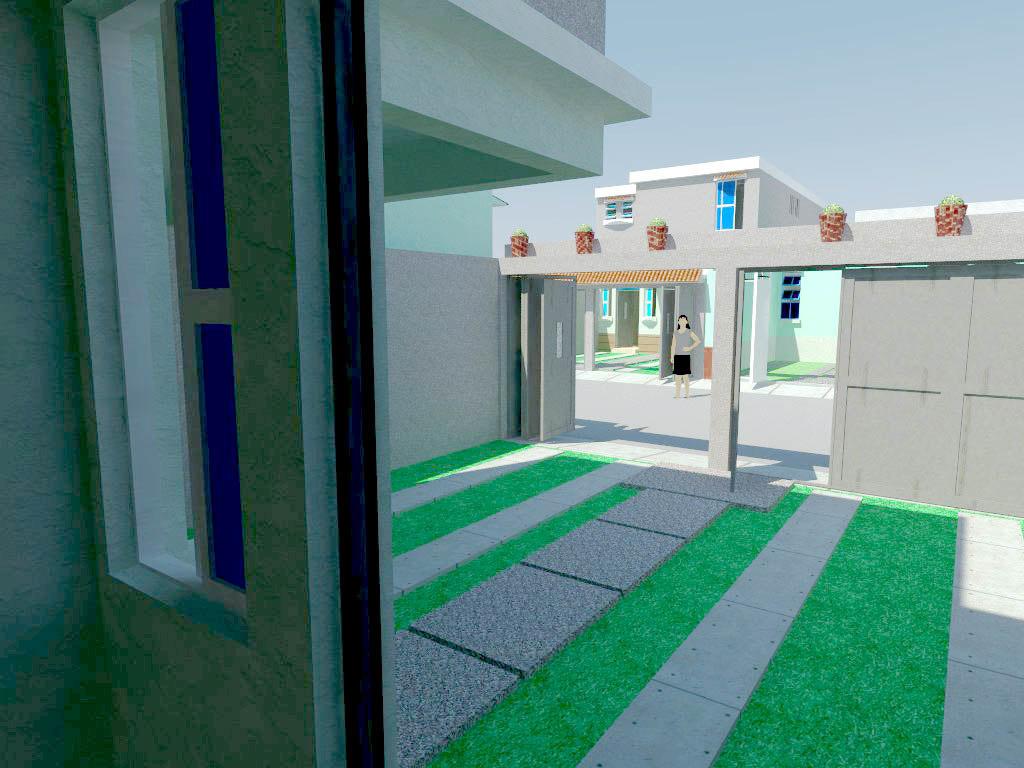 3D unifamiliar 2 house
