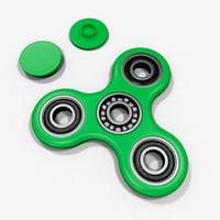 realistic fidget spinner 3D
