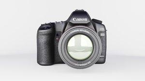 3D model realistic canon 5d mark