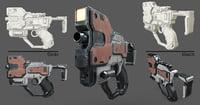 Scifi Gun Pistol