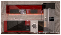 Kitchen_Modern_EminRed