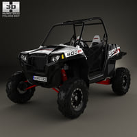 polaris rzr 900 3D model