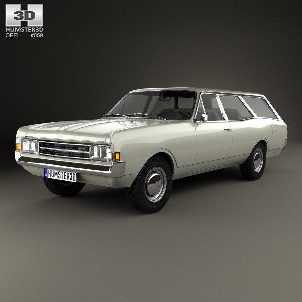 opel rekord 1967 model