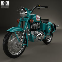 royal enfield bullet 3D