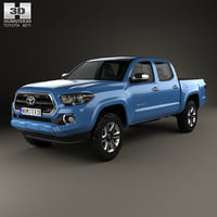 3D toyota tacoma double model