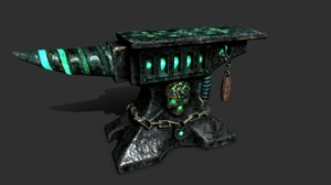 3D anvil