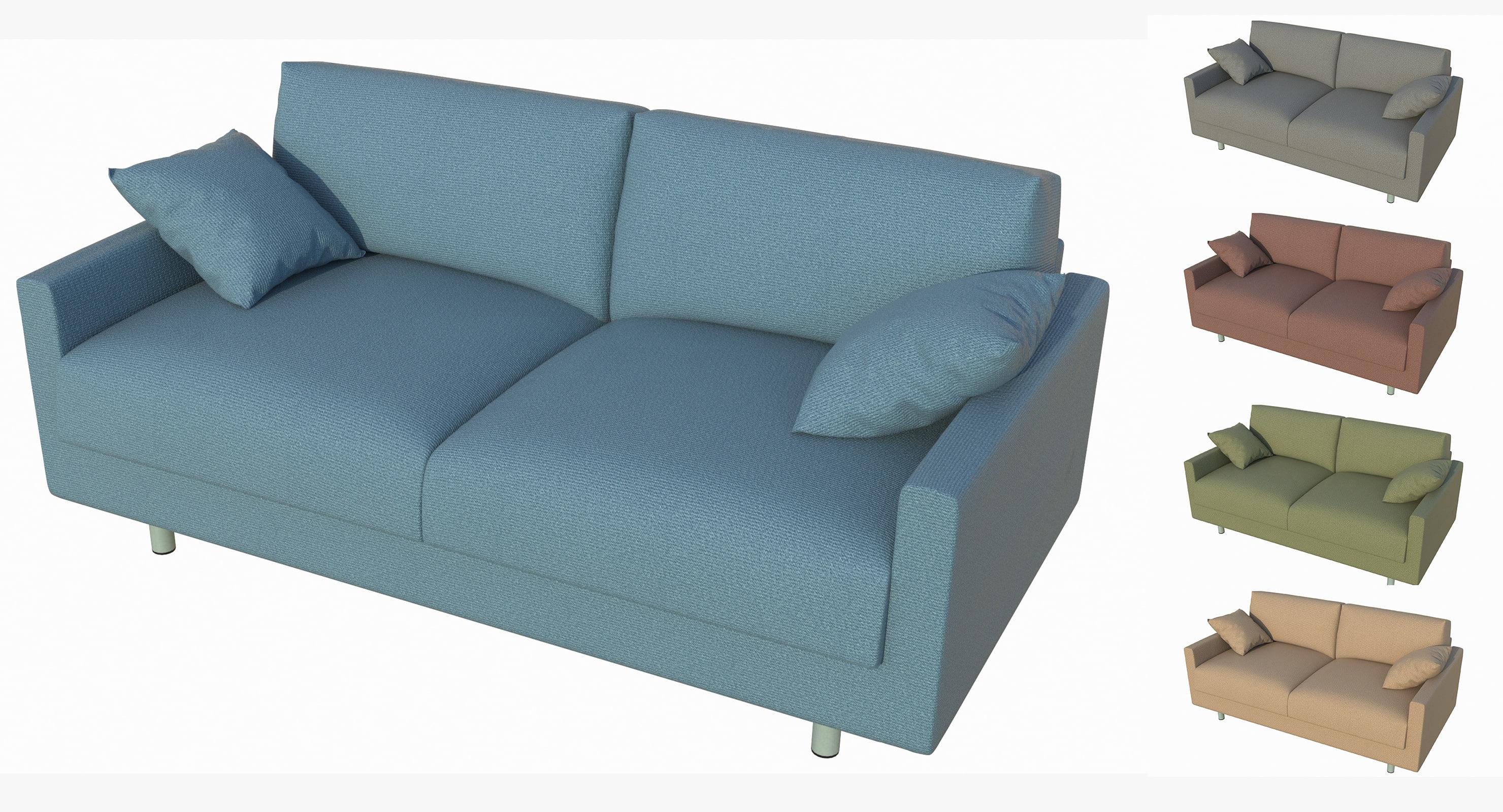 sofa sand 3D model
