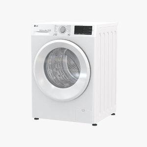 3D lg washing machine fh4u2vdn1