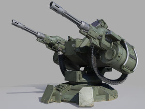 guns turret model