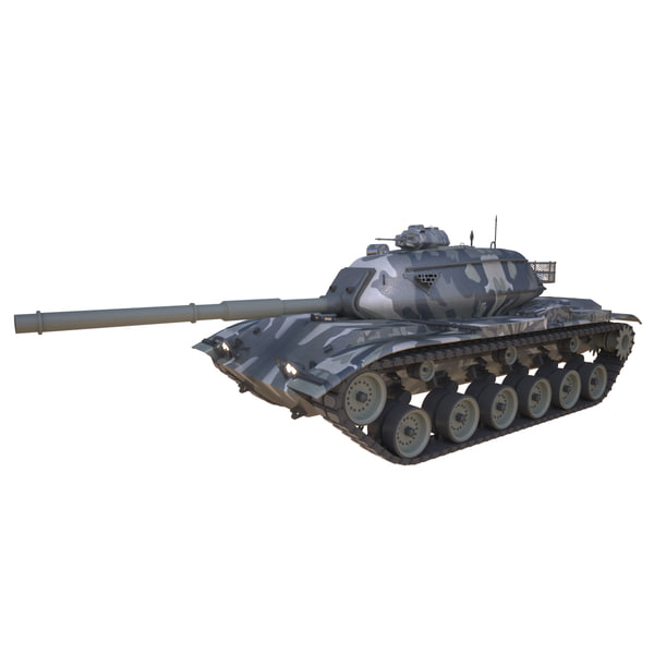 combat tank m60a3 model