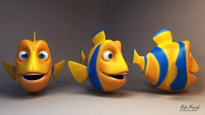 3D fish - -low