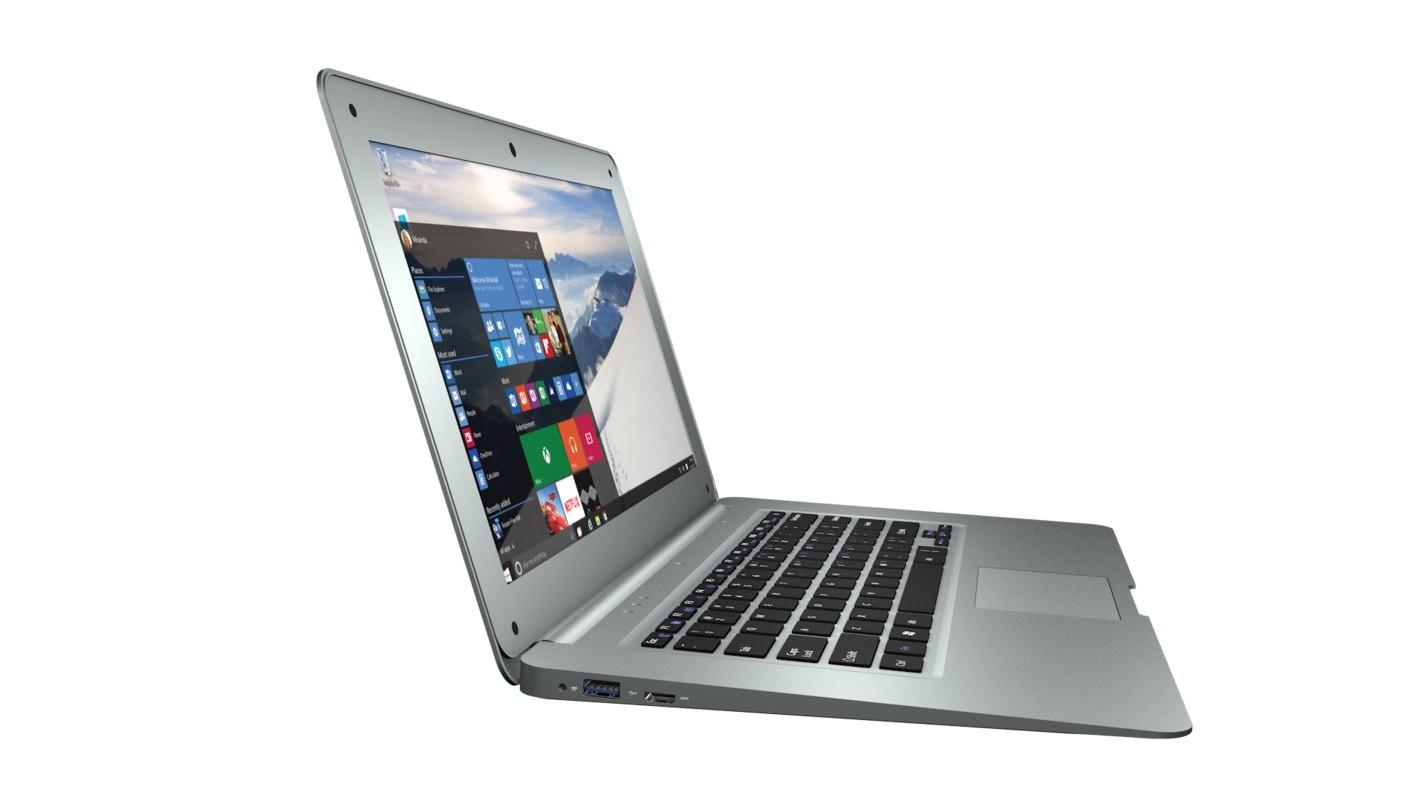 3D model laptops