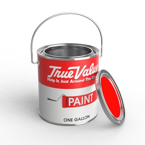 1 gallon paint 3D model