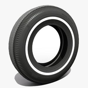 3D 60th-70th tire firestone