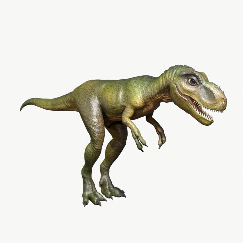 young tyrannosaurus rex 3D