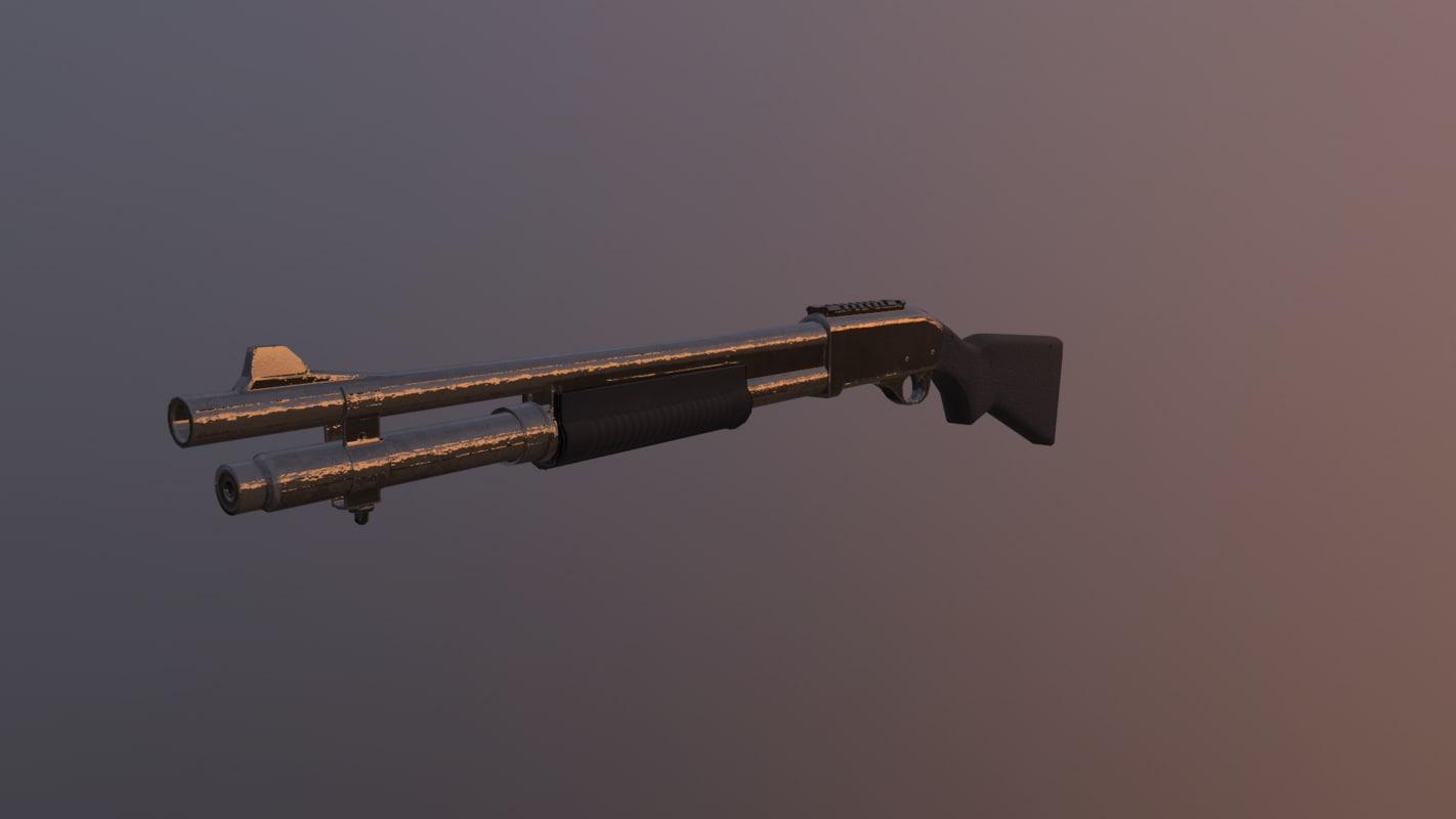 ready games remington 870 3D