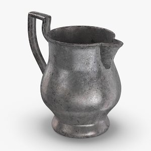3D model pewter-pitchers---light-stout-pitcher