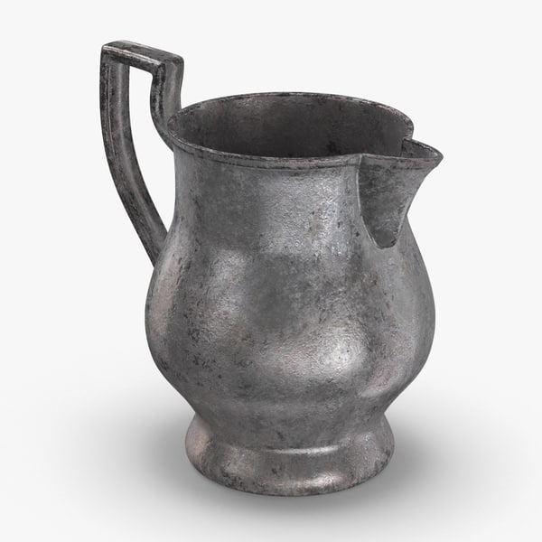 3D model pewter-pitchers---light-stout-pitcher